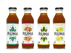 runa allbottles #bottle #packaging #design #graphic #label