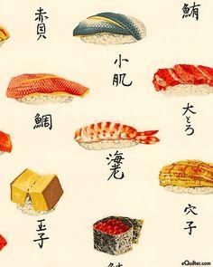 Vintage Design #sushi #design #vintage