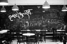 Nikolaj Kledzik – Art Direction & Graphic Design – Bagel Street Café – Visual Identity #interior