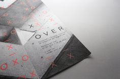 Crossover Festival on the Behance Network #white #branding #event #black #exhibition #identity #and #passport #bw #neon