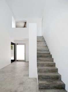 3 Houses in Meco by DNSJ.arq. #stairway #minimal #dnsjarq #concrete