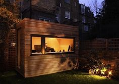 The Rise of the Backyard Office | Design Milk #backyard #workpod #office #workspace #outside