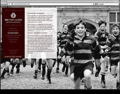Bruton Lloyd by Ascend Studio #website #education #design