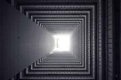 Vertical Horizon of Hong Kong by Romain Jacquet-Lagreze #photography #architecture #hong #long #squares #vertical