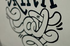 Skin A Cat Me and Gonzo #lettering #kin #a #meandgonzo #cat #poster #rad #sharpie #typography