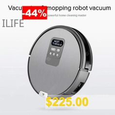 ILIFE #Robot #vacuum #cleaner # #Self-Charge #Wet #Mopping #intelligent #planning #working #route