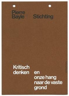 almost Modern: Pierre Bayle Foundation II #print #stationery