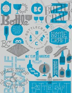 Bottle Craft #beer #collage #shirt