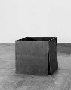 sulphuriclike:Richard Serra_House of Cards_1969 #abstract