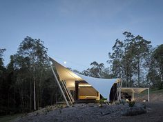 Verrierdale Tent House by Sparks Architects 14