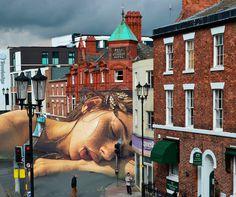 Sleeping Diana in Chester, England, by Maria Umiewska feat.Nadia Konina