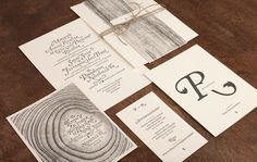 Perky Bros llc via www.mr cup.com #wedding #invitation #typography