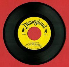 tiki+room+1963+45+record.jpg (image) #disneyland #record #vinyl #disney #music
