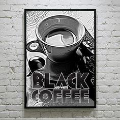 David_Brier_Coffee_Art #coffee #art #poster #deco