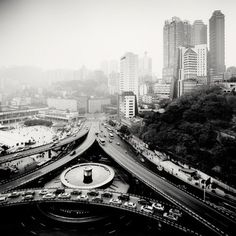 City of Fog by Martin Stavars » Creative Photography Blog #urban #inspiration #white #black #landscape #photography #and