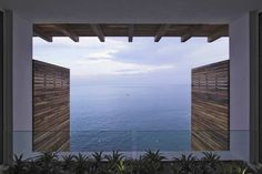 Ocean front house #view #architecture #panorama