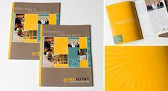 VCU Massey Cancer Center Annual Report #brochure #design #annual #report