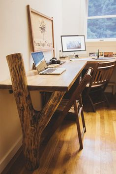 Rustic Desk. Reclaimed wood.