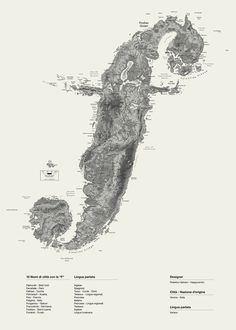 Alphaposter | Happycentro #island #pen #map