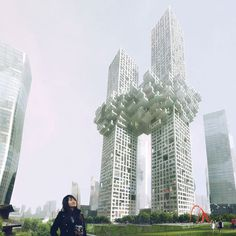 The Cloud by MVRDV #skyscraper #architecture