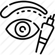 See more icon inspiration related to pigment, microblading, appearance, trend, eyebrows, beauty, treatment, tattoo and eyes on Flaticon.
