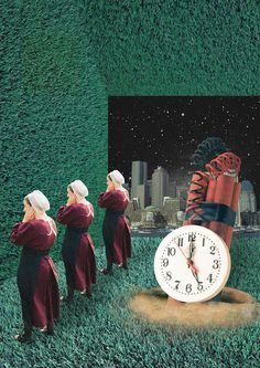 """You're a timebomb waiting to explode."" #modern #surrealism #vintage #art #collage"