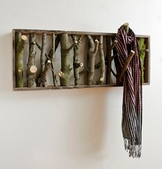Tumblr #reuse #branches #rack #coat