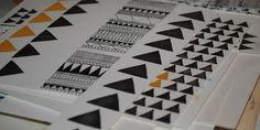 Google Reader (1000+) #paper #triangle #pattern #geometric