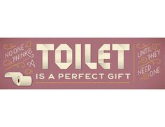 Lettering and Type | Jessica Hische #toilet #monostroke #hische #illustration #fun #paper #typography