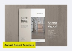 Annual Report Template by ThemeDevisers