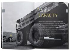 Western Coal: 2009 Annual Report #design