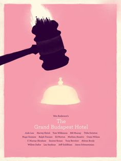 #Wes #Anderson #GrandBudapest #Hotel #Minimal #Movie #Poster #design #graphic #vector #archer