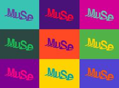 New Work: MUSE – Universal, Global, Local #logo #muse #museum #pentagram