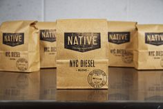 NYCDieselBags_web #packaging #coffee