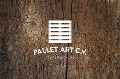 Pallet Art C.V. ogo on Behance #design #graphic #pallet #brand #logo