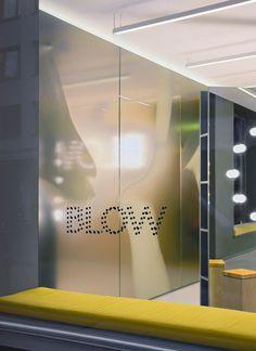 blow hair salon by studio david thulstrup designboom #interior