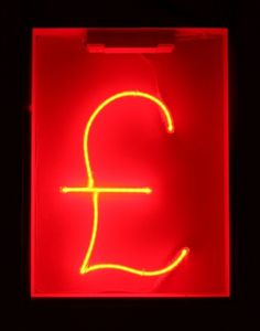 Neon Circus + hire neon signs - neon sign hire #sign #pound #red #neon