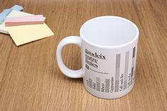 AP—AA #type #infographic #mug