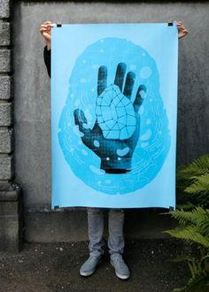 Ectoplasm : Philippe Desarzens / Graphic design #poster