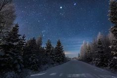 Night Landscapes by Mikko Lagerstedt