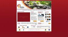 Portal Web Corporativo / Invest in Pereira #pereira #exusmultimedia #red #herduin #exus #design #black #webdesign #colombia #blue #web