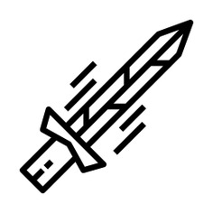 See more icon inspiration related to sword, excalibur, miscellaneous, defense, protection, weapons, weapon and medieval on Flaticon.