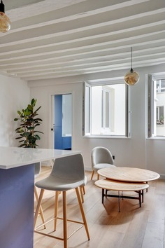 La Grande Bleu Apartment in Paris by HOCH Studio
