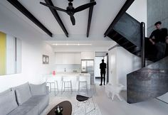 Urban Duplex Nam in Tel Aviv by Gerstner