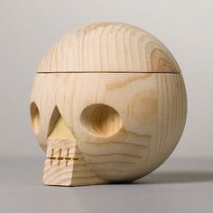 Kranium at the acne jr shop #wood #skull #toy