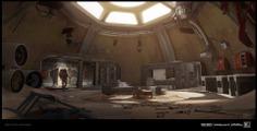 Call of Duty Infinite Warfare - Desert base interior!