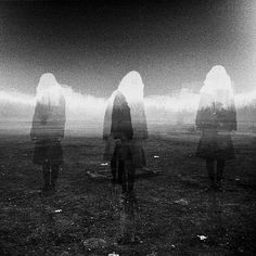 FFFFOUND! | Part Two: Blooodd #white #retro #effect #black #people #landscape