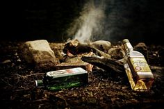 All sizes | Untitled | Flickr - Photo Sharing! #canada #alcohol #forrest #campfire #camp #photography #fire #booze