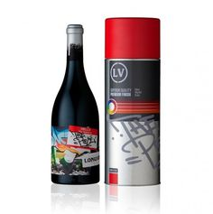 Alcohol | Lovely Package #urban #packaging #graffiti #wine #typography