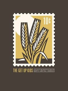FFFFOUND! | 6a00e55179fccc88330115706d3ebf970b-800wi 450×600 pixels #stamp #gig #color #grain #poster #crop #wheat
